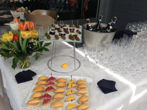 Buffet Apéritif dînatoire-Brasserie Debourg