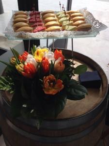 Apéritif dînatoire-Buffet-Navettes à la mousse de canard-Clubs sandwich-Brasserie Debourg