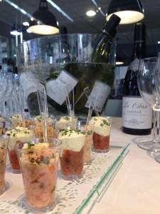 Buffet de verrines-Lyon 7-Brasserie Debourg