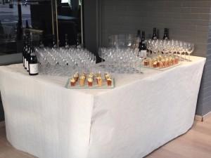 Présentation vins-Privatisation restaurant-Brasserie Debourg