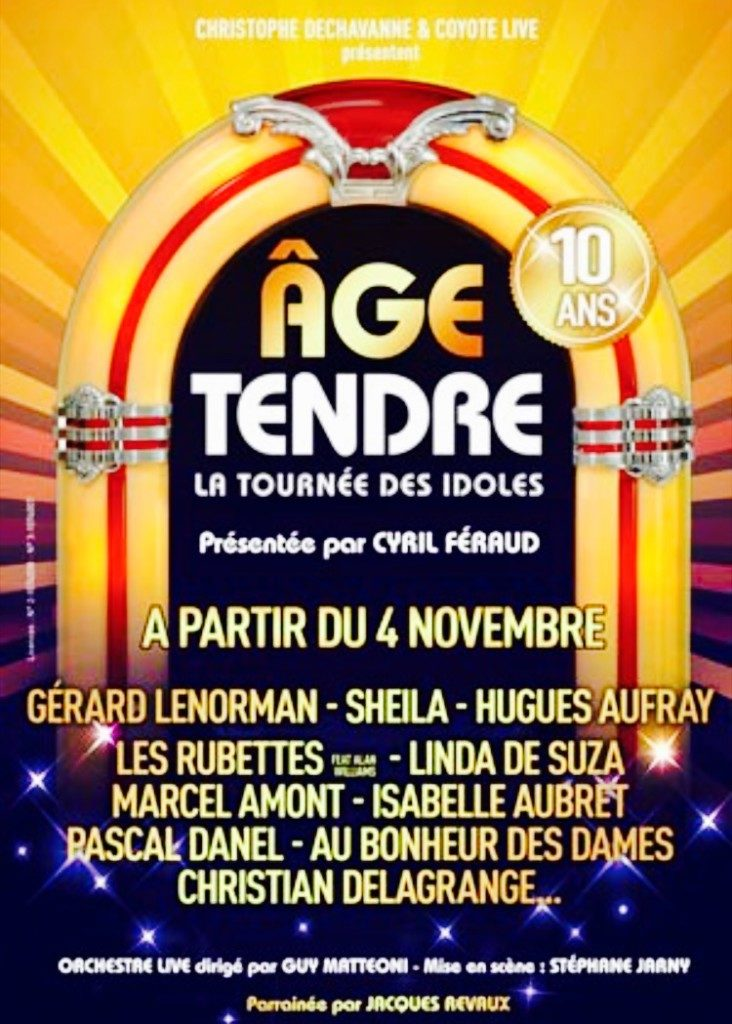 Age Tendre Halle tony garnier