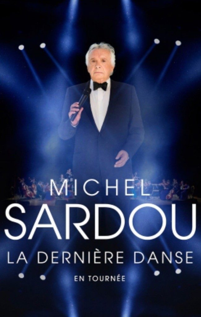 Michel sardou concert lyon halle tony garnier