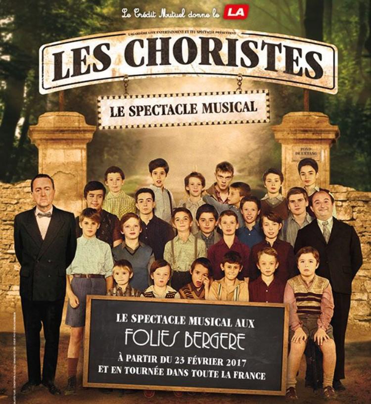 les choristes spectacle musical