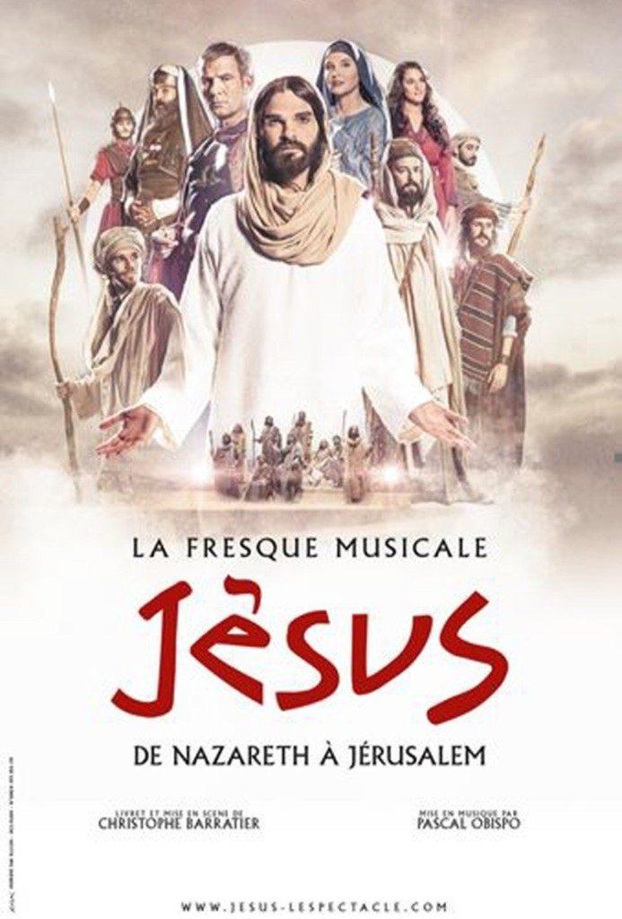 Jésus de nazareth à jerusalem Halle Tony Garnier